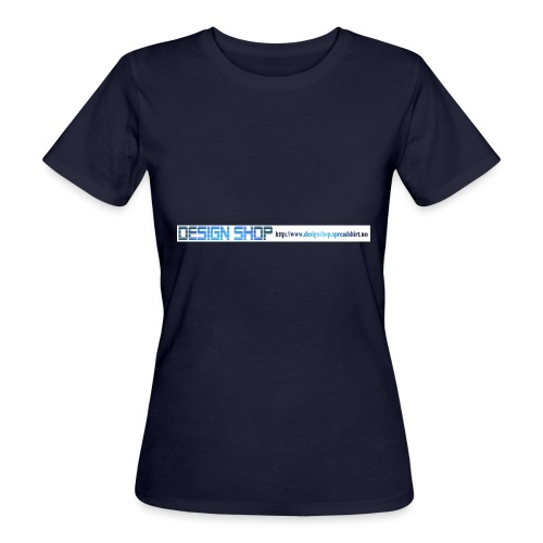 ny logo lang - Økologisk T-skjorte for kvinner
