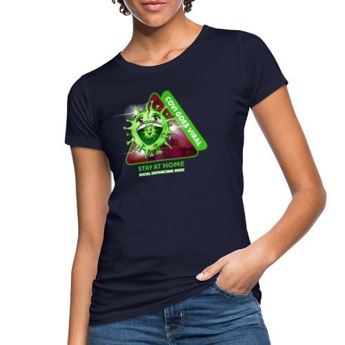 Covi goes Viral - Frauen Bio-T-Shirt