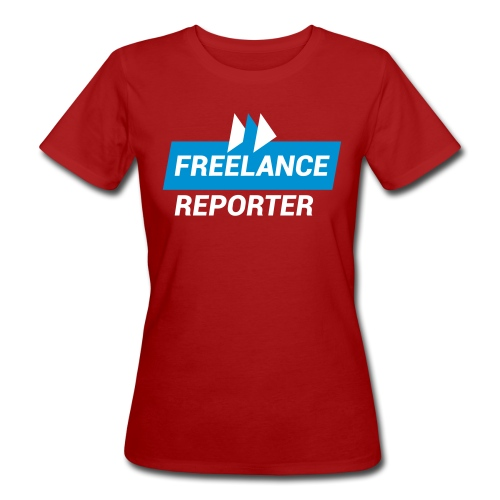Freelance Reporter - T-shirt ecologica da donna