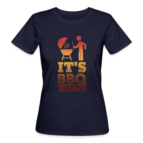 It's BBQ Time - Vrouwen Bio-T-shirt