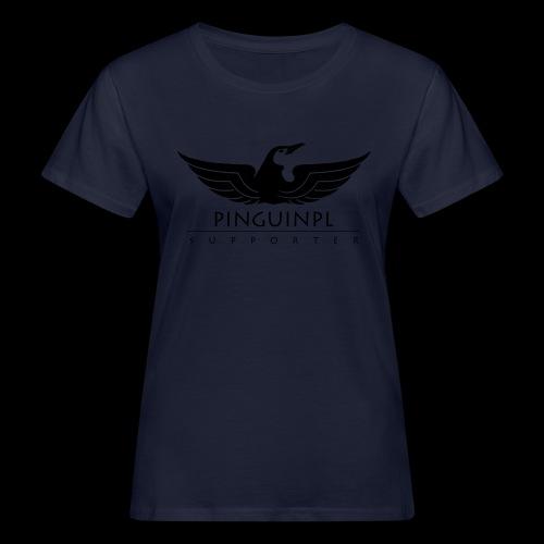 zwolennikiem Blackline - Ekologiczna koszulka damska
