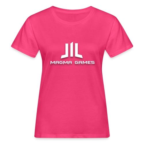 Magma Games t-shirt grijs - Vrouwen Bio-T-shirt