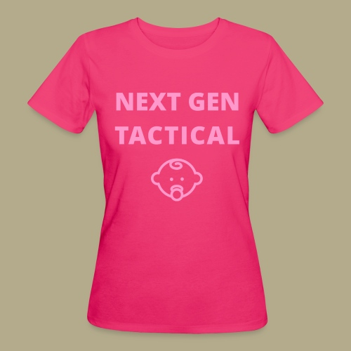Tactical Baby Girl - Vrouwen Bio-T-shirt