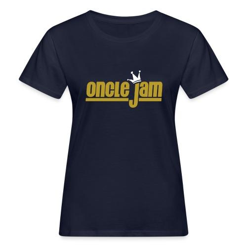 Oncle Jam horizontal or - T-shirt bio Femme