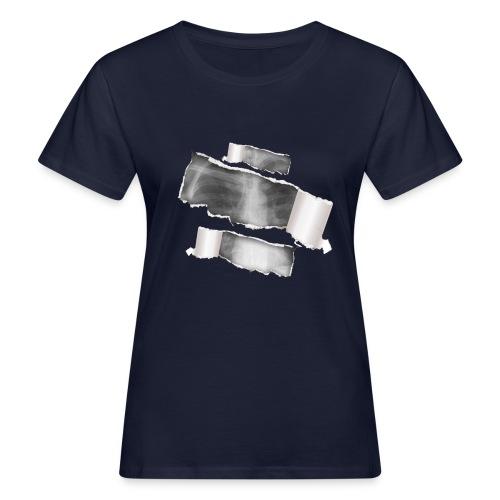 Chest X-Ray - T-shirt ecologica da donna