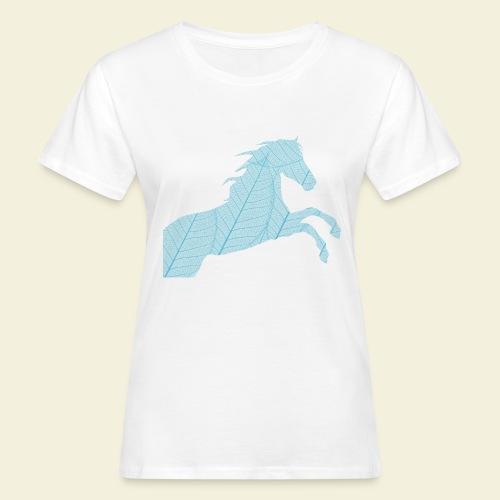 Cheval feuille - T-shirt bio Femme