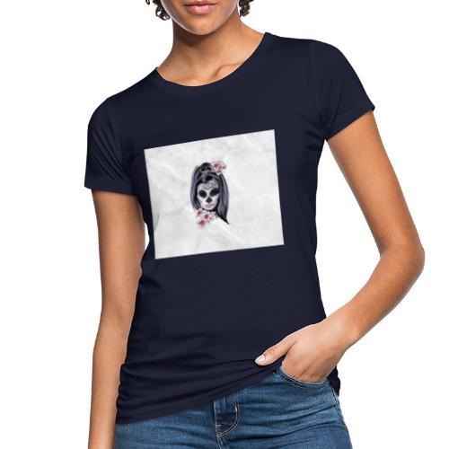 Tête de mort mexicaine - T-shirt bio Femme