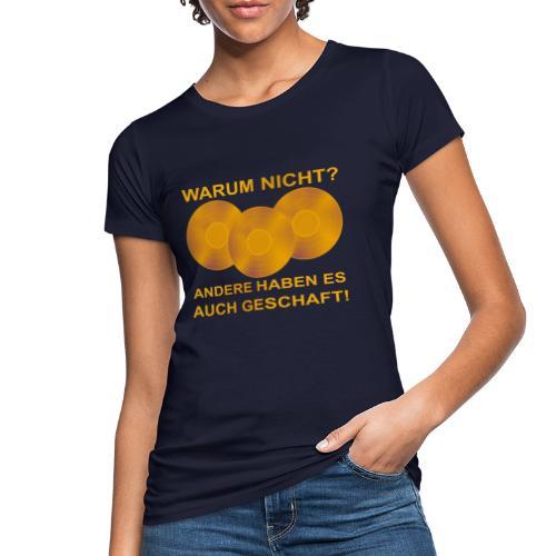 Goldene Schallplatte - Frauen Bio-T-Shirt