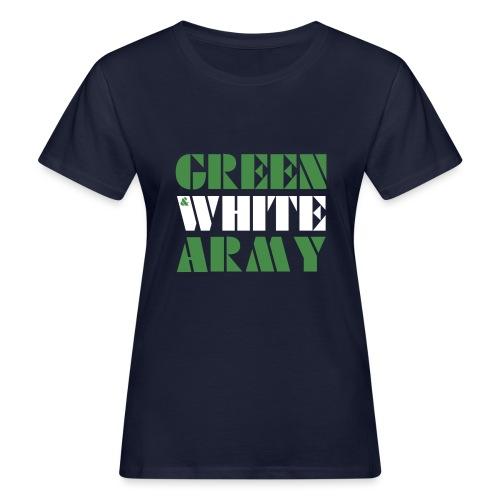 GREEN & WHITE ARMY - Women's Organic T-Shirt