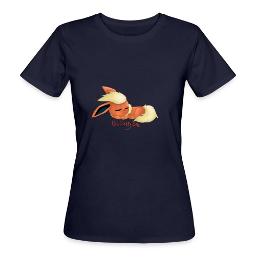 eevee - flareon - the sleppy one - Women's Organic T-Shirt