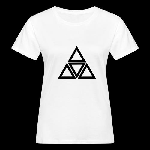 triangle - T-shirt ecologica da donna
