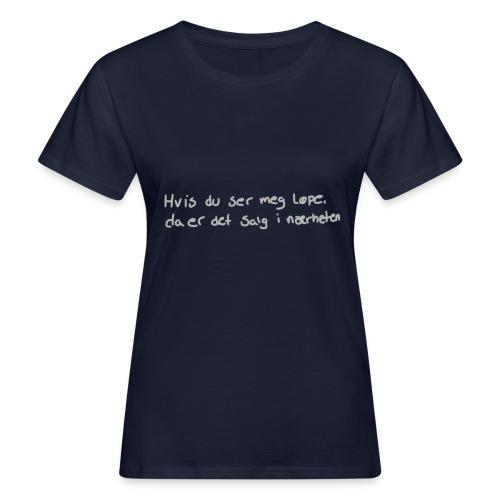 Salg løpe - Økologisk T-skjorte for kvinner