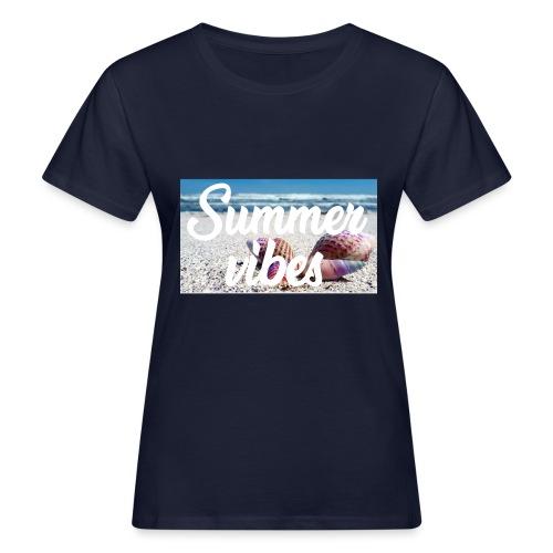 Summervibes - Frauen Bio-T-Shirt