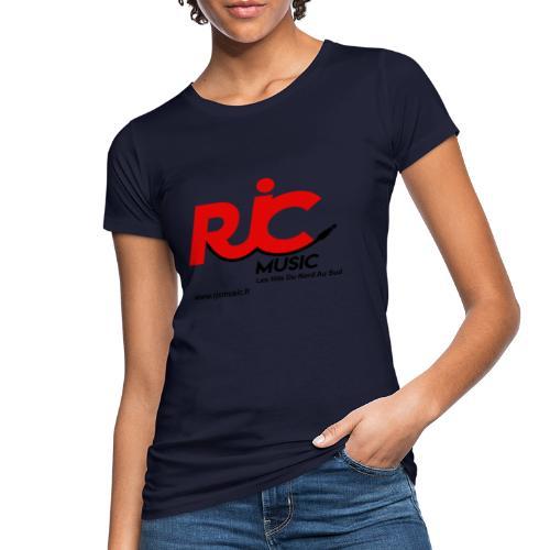 RJC Music avec site - T-shirt bio Femme