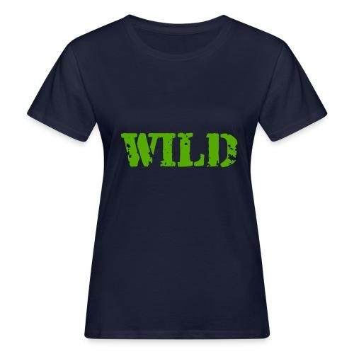 wild - T-shirt ecologica da donna