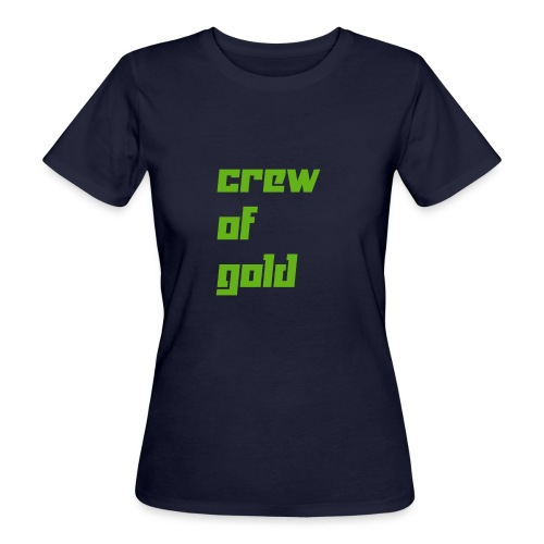 crew - T-shirt ecologica da donna