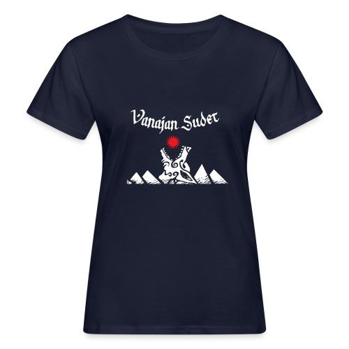 Auringonsyöjä - Naisten luonnonmukainen t-paita