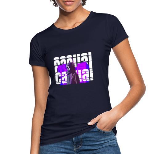 CASUAL BRUTALISM - Økologisk T-skjorte for kvinner