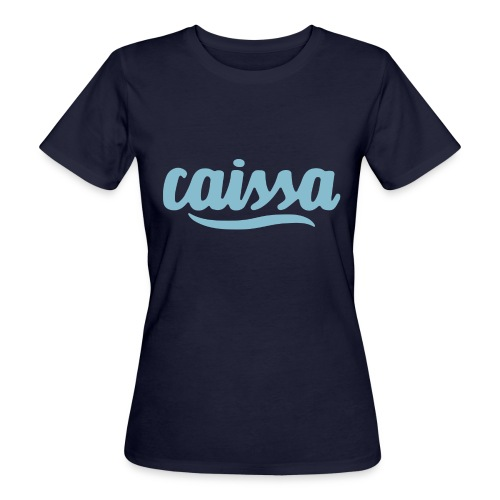 caissa logo - Frauen Bio-T-Shirt