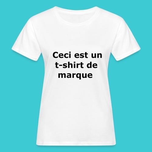t-shirt2 - T-shirt bio Femme