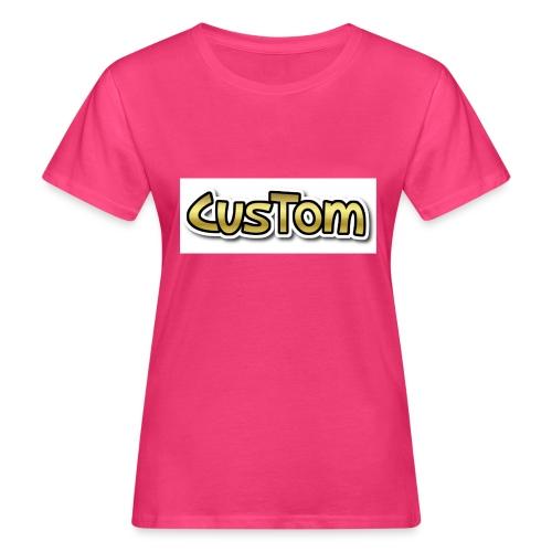 CusTom GOLD LIMETED EDITION - Vrouwen Bio-T-shirt