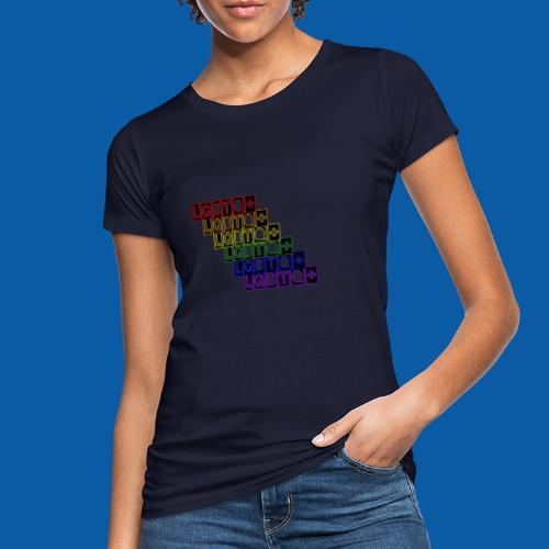 LGBTQ+ Raibow - Frauen Bio-T-Shirt