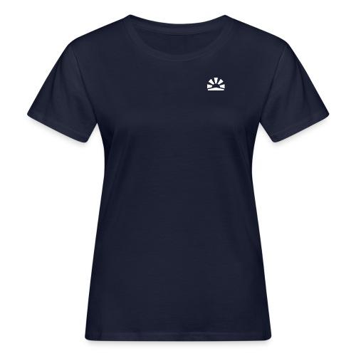 Julian Hanßen Logo (weiß) - Frauen Bio-T-Shirt