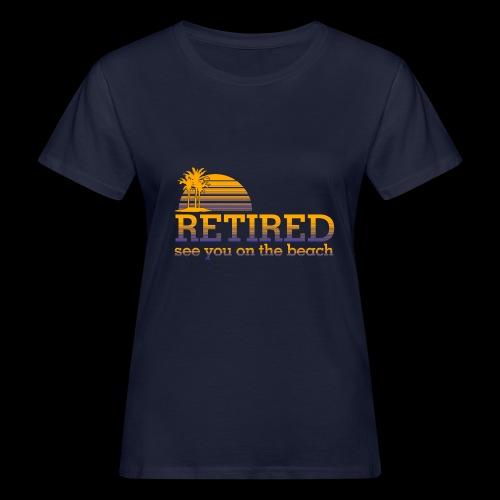 Retraite - T-shirt bio Femme