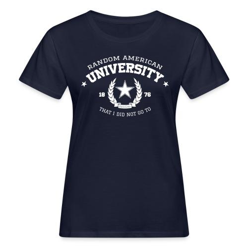 Random University - Vrouwen Bio-T-shirt