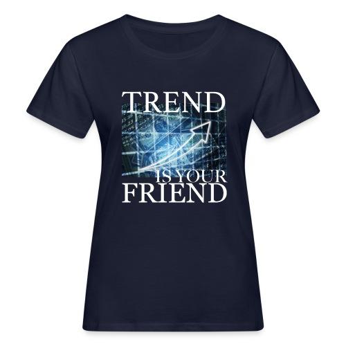 Designed T-Shirt for Traders Stock Market Forex - T-shirt ecologica da donna
