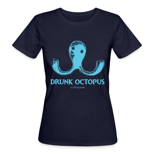 Drunk Octopus - Women's Organic T-Shirt