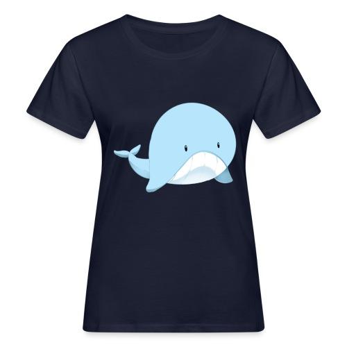 Whale - T-shirt ecologica da donna