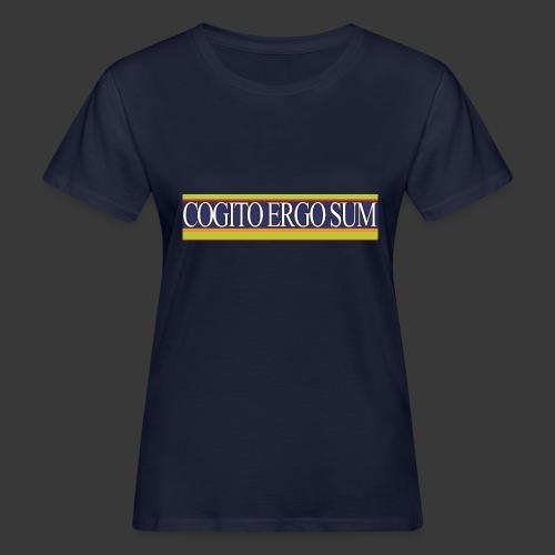 ces weiss - Frauen Bio-T-Shirt