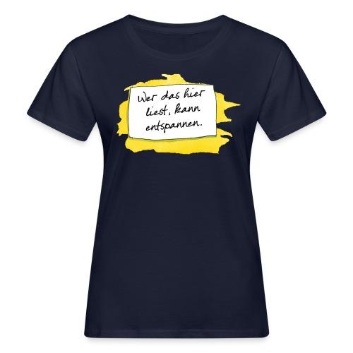 Janosch Wer Das Liest Spruch - Frauen Bio-T-Shirt