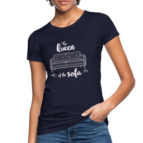 quuen of sofa - T-shirt ecologica da donna