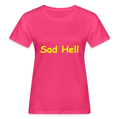 Sad Sans - Women's Organic T-Shirt
