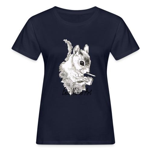 Ecureuil la clope - T-shirt bio Femme