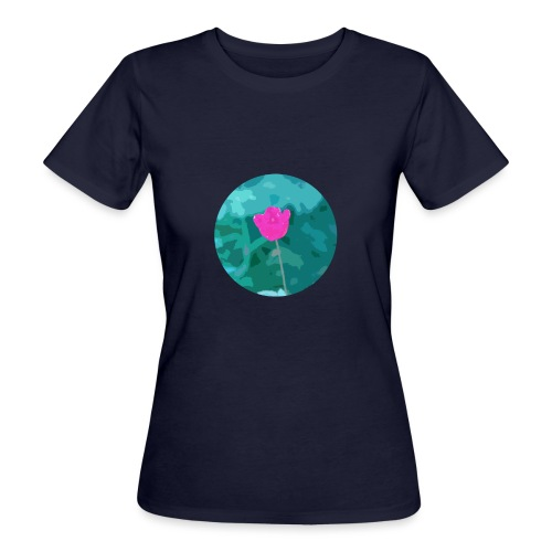 Flower power - Vrouwen Bio-T-shirt