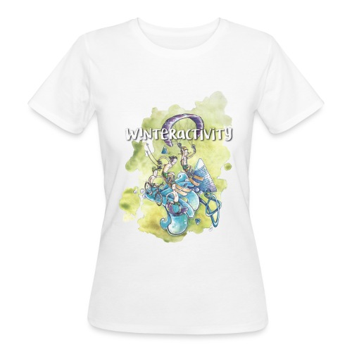 WINTERACTIVITY - T-shirt bio Femme