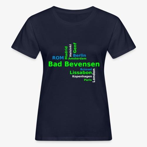 City_Europa_BadBevensen - Frauen Bio-T-Shirt