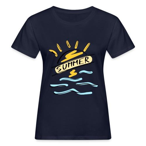Summer - T-shirt bio Femme