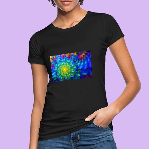 Astratto luminoso - T-shirt ecologica da donna