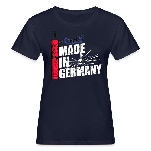 Global Fireworks Knaller - Frauen Bio-T-Shirt