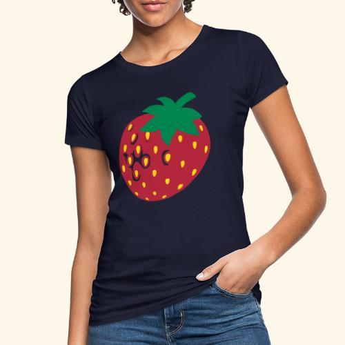 Erdbeere - Frauen Bio-T-Shirt