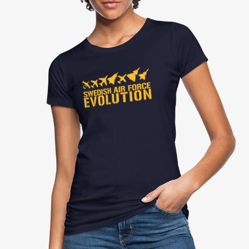 Swedish Air Force Evolution - Ekologisk T-shirt dam
