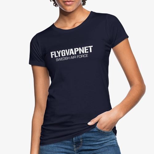 FLYGVAPNET - SWEDISH AIR FORCE - Ekologisk T-shirt dam