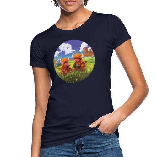 Highland cows from Scotland - T-shirt bio Femme