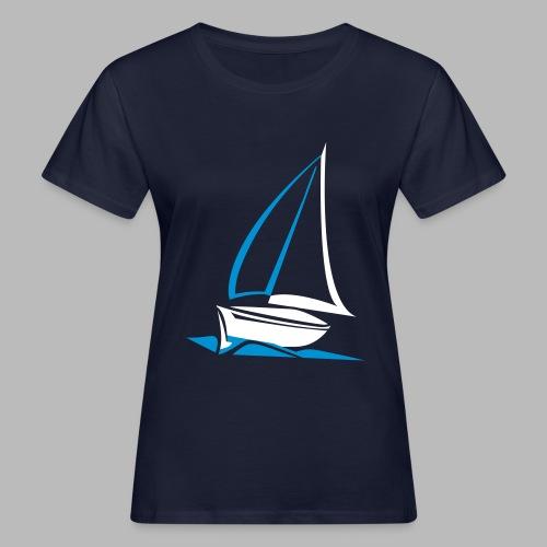 segelyacht - Frauen Bio-T-Shirt