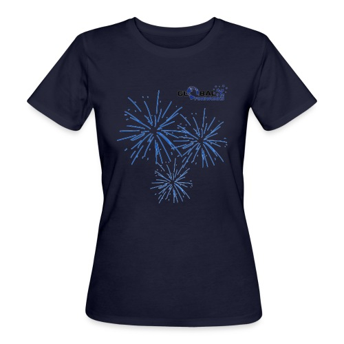 Global Fireworks Pyro - Frauen Bio-T-Shirt