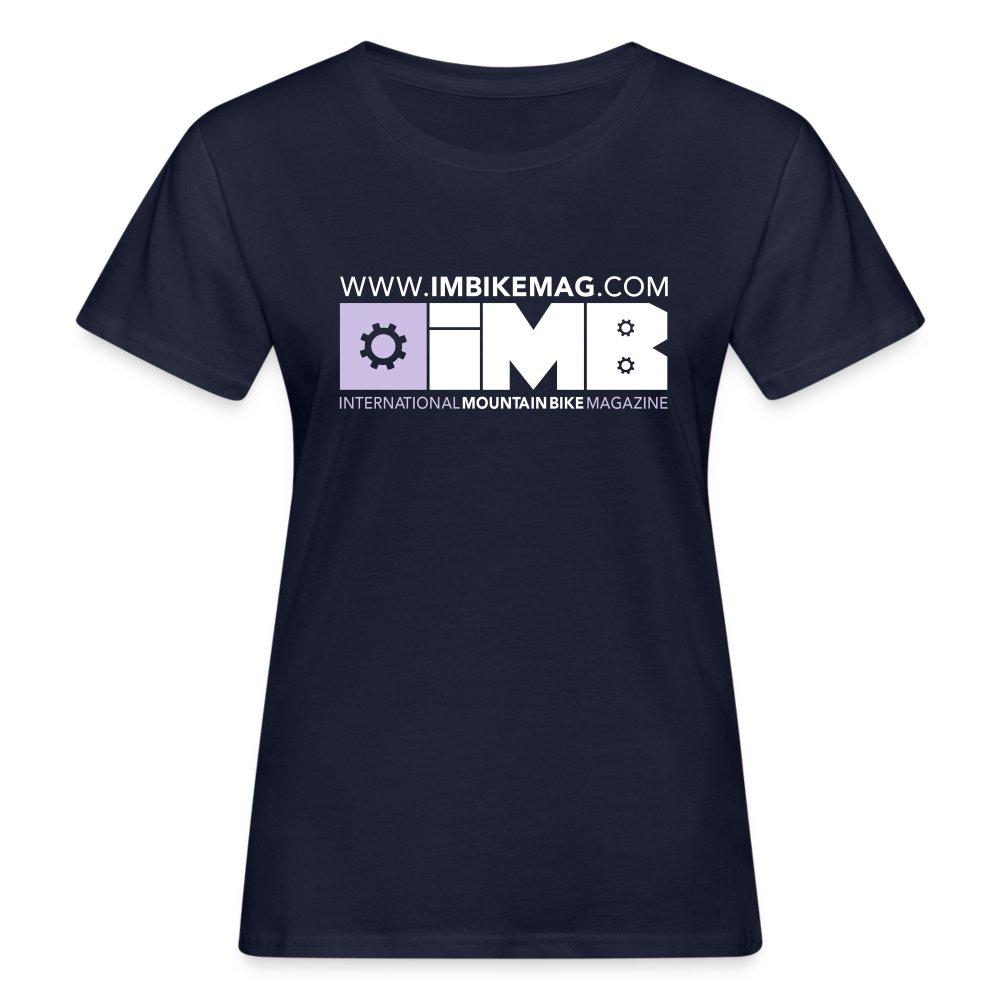 IMB Logo - Women's Organic T-Shirt - dark red